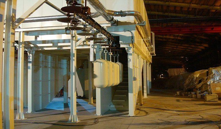 نصب وراه اندازی خط کامل تولید مخازن CNG